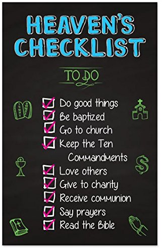 Heaven's Checklist (Packet of 100, - An Track Order Can I How