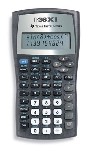 amazon com texas instruments ti 36x ii office products rh amazon com TI- 36 Solar X TI- 36 Solar X
