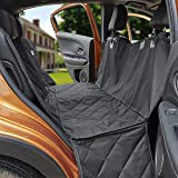 MEGA PET Dog Car Seat Covers, 100% Waterproof Scratch Proof Nonslip Dog Seat Cover, 600D Heavy Duty seat Cover for Dogs, Dog car Hammock Pet Seat Cover for Back Seat car Trucks SUV Black Review