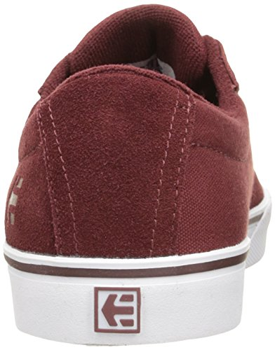 Etnies Jameson Vulc W's, Color: Burgundy/Tan/White, Size: 40.5 Eu / 10 Us / 8 Uk