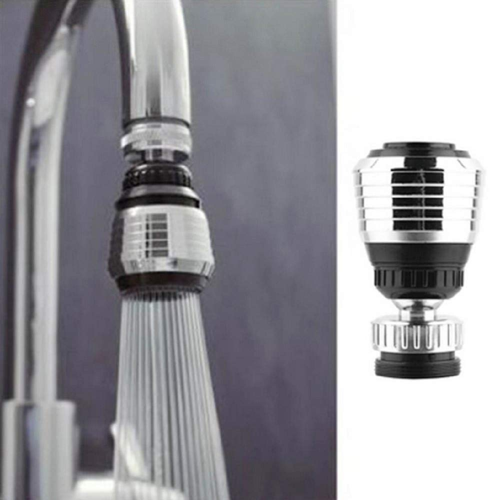 Botrong 360 Degree Rotary Faucet Luxury Internal Thread Nozzle Filter Adapter Water Save