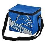Detroit Lions Big Logo Stripe 6 Pack Cooler