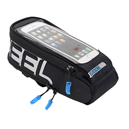 VINQLIQ Cycling Bike Handlebar Bags Quick Release Bicycle Front Top Frame Pouch for Touch Screen Phone - 5.5