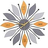 北欧挂钟美式现代简约风客厅家用大气时钟个性创意石英钟时尚钟表
