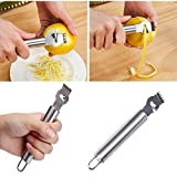 DZT1968 1PC Stainless Steel Peeler For Lemon And Orange Professional Kitchen Peeling Tool