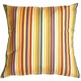 Pillow Decor - Sunbrella Castanet Beach Stripes Outdoor Pillow