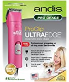 Andis UltraEdge Super 2-Speed Detachable Blade Clipper, Professional Animal/Dog Grooming, AGC2 - Maintenance Card Included