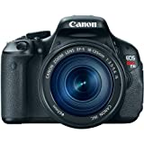 Canon EOS Rebel T3i Digital SLR Camera with EF-S 18-135mm f/3.5-5.6 IS Lens (discontinued by manufacturer) For Sale