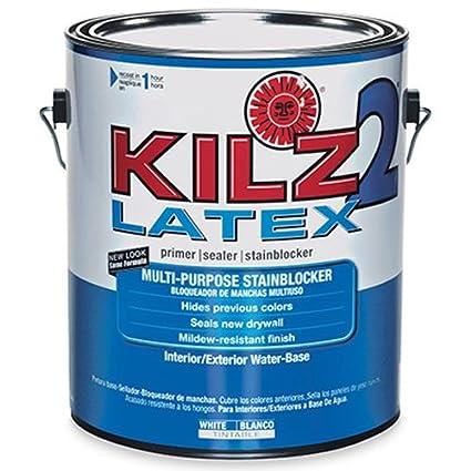 Charmant KILZ 2 Multi Surface Stain Blocking Interior/Exterior Latex Primer/Sealer,  White