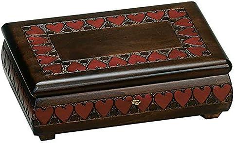 Amazon.com: Caja de joyería de San Valentín con corazón ...
