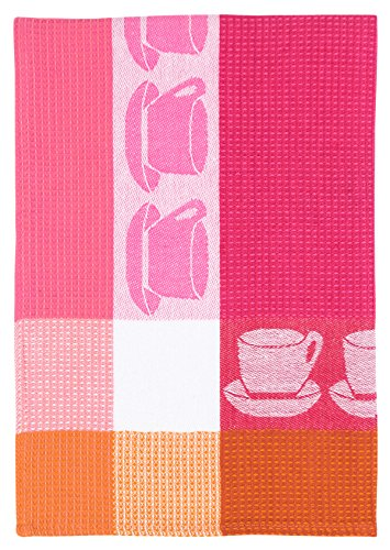 - Traders and Company 100% Cotton Pink White & Orange 20