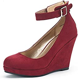 Amazon.com: Wedge - Pumps / Shoes: Clothing Shoes &amp Jewelry