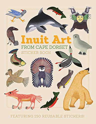 Inuit Art From Cape Dorset Sticker Book