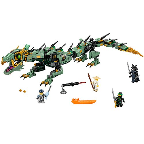 The Green Ninja (LEGO Ninjago Movie Green Ninja Mech Dragon 70612 Building Kit (544 Piece))