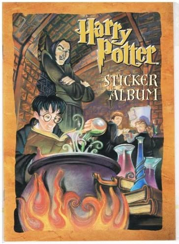NEW HARRY POTTER SORCERER/'S STONE YEAR 1 STICKERS 3 SHEETS PER PACK