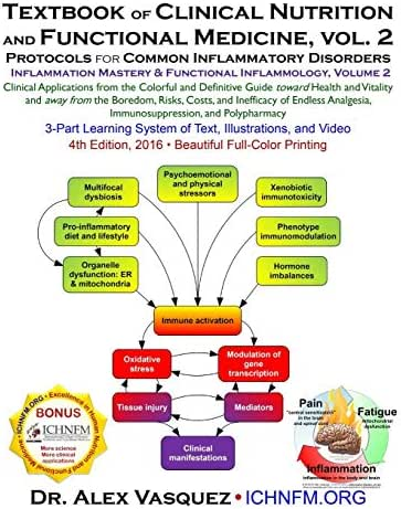 Textbook of Clinical Nutrition and Functional Medicine, vol. 2: Protocols for Common Inflammatory Disorders (Inflammation Mastery & Functional Inflammology)