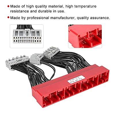 Duokon OBD2A to OBD1 Jumper ECU Conversion Wiring Harness Assemblyfor Accord Civic 96-98: Automotive