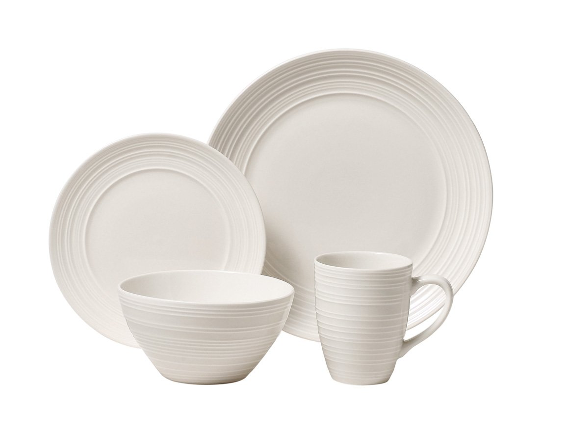 Amazon.com | Ripple 16 PC DINNERWARE SET Service for 4 - Dinnerware Set Dinnerware Sets  sc 1 st  Amazon.com & Amazon.com | Ripple 16 PC DINNERWARE SET Service for 4 - Dinnerware ...