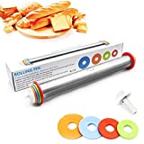 Stainless Steel Adjustable Rolling Pin