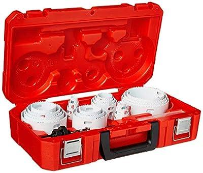 Milwaukee 49-22-4185 28-Piece All Purpose Professional Ice Hardened Hole Saw Kit from Milwaukee