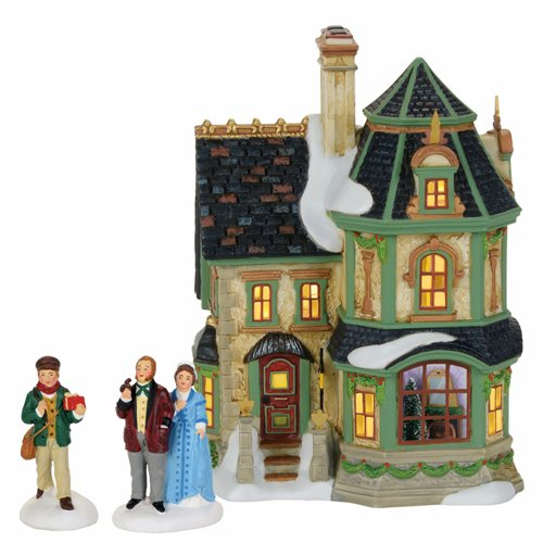 Department 56 Dickens Village, Home for Holidays -