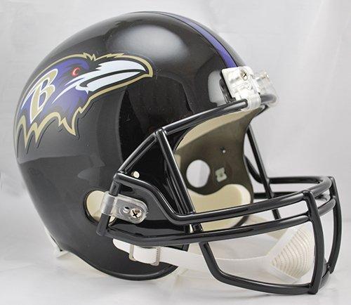 Baltimore Ravens Riddell Full Size Deluxe Replica Football Helmet - New in Riddell Box