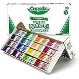 Crayola Broad Line Markers Bulk, 256 Count Classpack