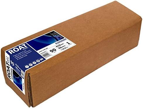 Rollo de papel Vegetal 90GR. 61cms de ancho por 50 metros. Ideal línea monocromo y color.: Amazon.es: Oficina y papelería
