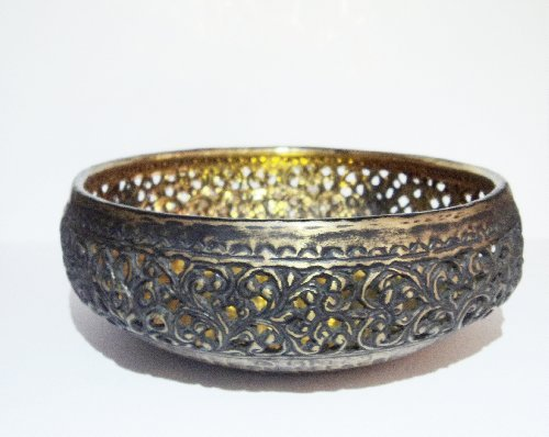- Brass Carving Bowl