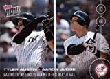 2016 Topps Now #351 Tyler Austin / Aaron Judge Baseball Card - Make History w/ Back to Back Home Runs in 1st MLB At Bats