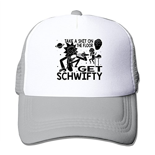 Ash Rick And Morty Inspired Get Schwifty Level-headed Hat Strapback Hats