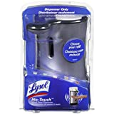 Lysol No-Touch Automatic Hand Soap Dispenser, Stainless, 1 Count