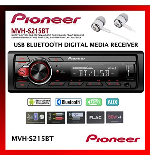 Pioneer InDash BuiltIn Bluetooth