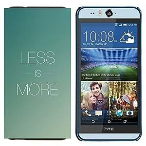 EJOOY---Cubierta de la caja de protección para la piel dura ** HTC Desire Eye M910x ** --Menos es más