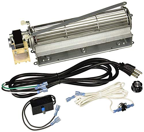 (VICOOL BLOT Replacement Fireplace Blower Fan KIT for Monessen, Hearth Systems, Martin, Majestic, Hunter (Standard Sized))
