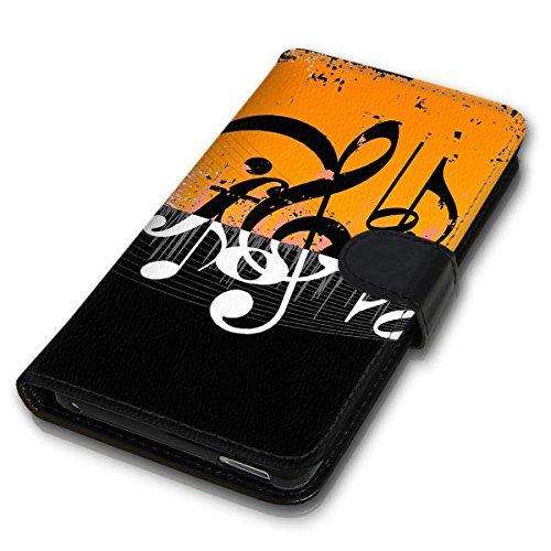 Wallet Book Style Flip Handy Tasche Case Schutz Hülle Schale Motiv Etui für Apple iPhone 5 / 5S - Design Flip MVD66
