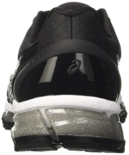 Multicolore Knit Black Asics White Quantum Chaussures de 360 Silver Gel Femme Running qCx68pnZ7