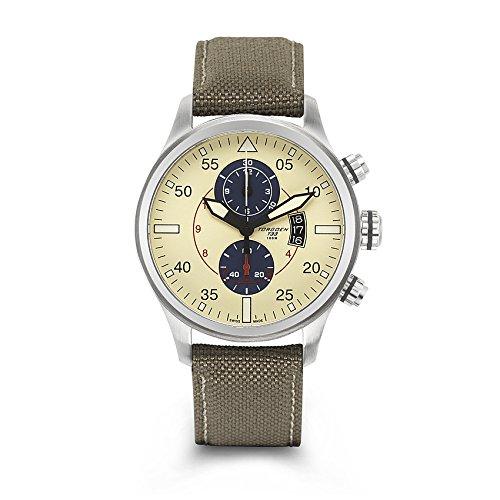 Torgoen Swiss Men's T33402 Pilot Watch