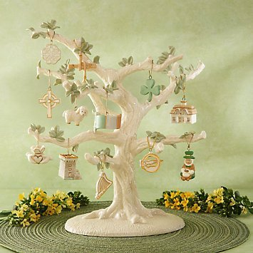 Lenox Set of 12 Ornaments for Ornament Tree (Tree Not Included) St. Patrick's Day]()