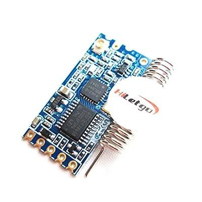 HiLetgo 433Mhz SI4463 Wireless Module Serial Port 1000M HC-12 Replace Bluetooth Antenna