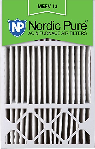 Nordic Pure 16x25x5HM13-1 16x25x5, MERV 13, Honeywell Replacement Air Filter, Box of 1, 5-Inch