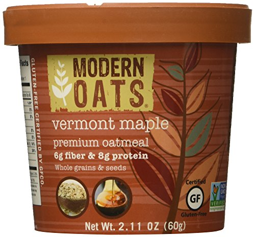 (Modern Oats Vermont Maple Premium Oatmeal (Pack of 12))