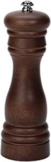 product image for Fletchers' Mill Federal Pepper Mill, Walnut Stain - 6 Inch, Adjustable Coarseness Fine to Coarse, MADE IN U.S.A.