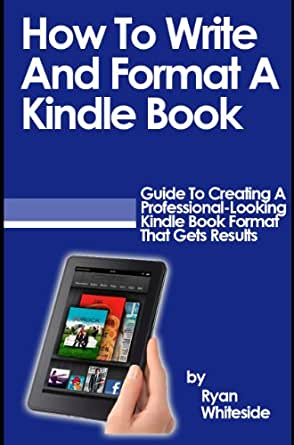 How to print my kindle book