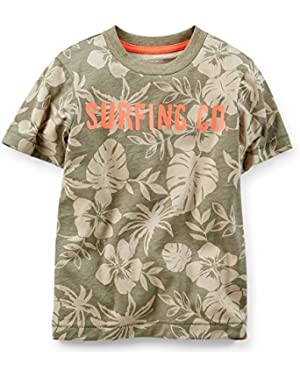 Carter's Boy S/s Tropical Tee with