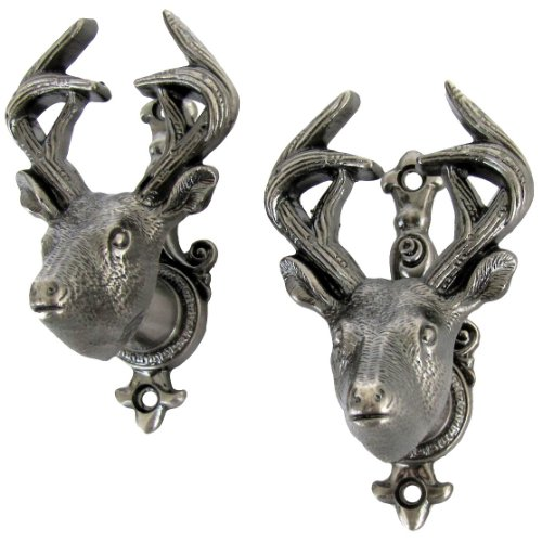 TG,LLC Buck Deer Wall Mount Weapon Hooks ()