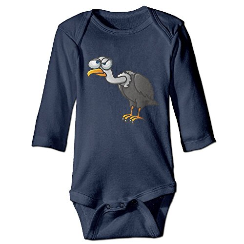 Vultures Newborn Baby Long Sleeve Onesie Bodysuit Infant Rompers