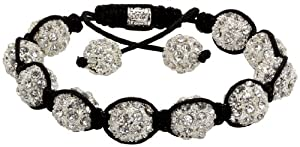 Royal Diamond Crystal Stone Balls Shamballa Bracelet (9 COLORS TO CHOOSE FROM)