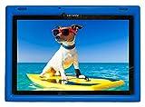 Bobj Rugged Case for Lenovo 10 TB-X103F and Tab 2 A10-30, Tab2 X 30F - BobjGear Custom Fit - Patented Venting - Sound Amplification - BobjBounces Kid Friendly (Batfish Blue)