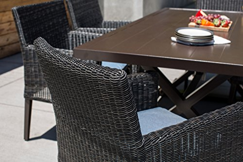 La-Z-Boy Outdoor 7 Piece Riverview Patio Furniture Dining